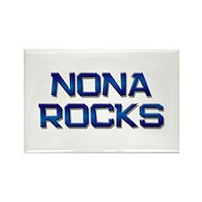 nona rocks Rectangle Magnet