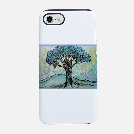 tree ! tree of life, art! iPhone 7 Tough Case