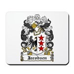 Jacobsen Coat of Arms Mousepad