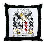 Jacobsen Coat of Arms Throw Pillow