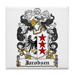 Jacobsen Coat of Arms Tile Coaster