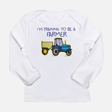 training to be a farmer Long Sleeve T-Shirt