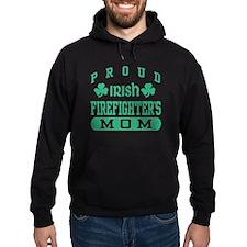 Proud Irish Firefighter's Mom Hoodie