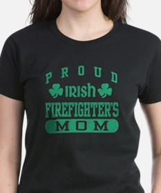 Proud Irish Firefighter's Mom Tee