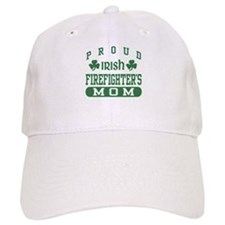 Proud Irish Firefighter's Mom Baseball Cap