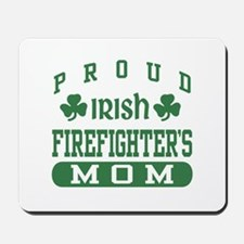 Proud Irish Firefighter's Mom Mousepad