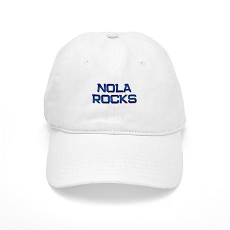 nola rocks Cap
