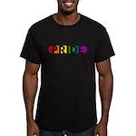 Pride Pop Men's Fitted T-Shirt (dark)