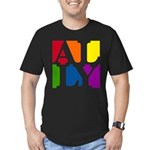 Ally Pop Men's Fitted T-Shirt (dark)