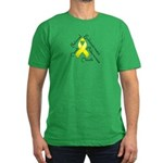 Endometriosis Month Men's Fitted T-Shirt (dark)