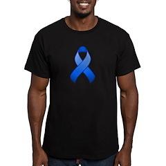 Blue Awareness Ribbon T