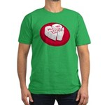 All My Love Broken Heart Men's Fitted T-Shirt (dar