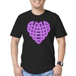 Hesta Heartknot Men's Fitted T-Shirt (dark)