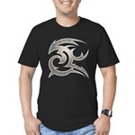 Tribal Gust Men's Fitted T-Shirt (dark)
