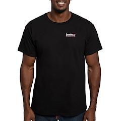 JamieCo Design Logo Men's Fitted T-Shirt (dark)
