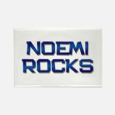 noemi rocks Rectangle Magnet