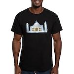 Taj Mahal Men's Fitted T-Shirt (dark)