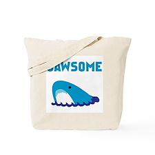 Jawsome Shark Tote Bag