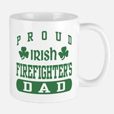 Proud Irish Firefighter's Dad Mug