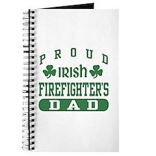 Proud Irish Firefighter's Dad Journal