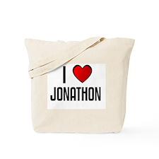 I LOVE JONATHON Tote Bag