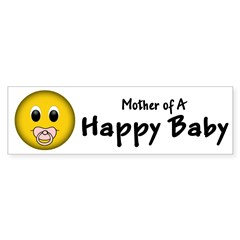 Happy Baby Bumper Bumper Sticker