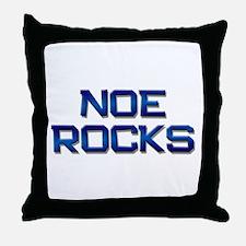 noe rocks Throw Pillow