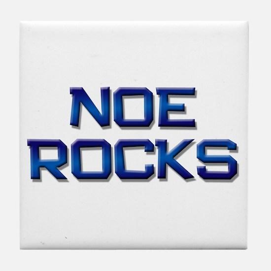 noe rocks Tile Coaster