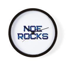 noe rocks Wall Clock