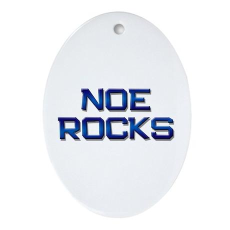 noe rocks Oval Ornament