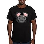 Gray Mousie Men's Fitted T-Shirt (dark)