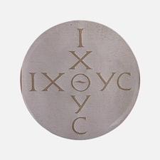 "'Christian Monogram' 3.5"" Button"