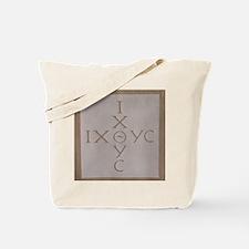 'Christian Monogram' Tote Bag