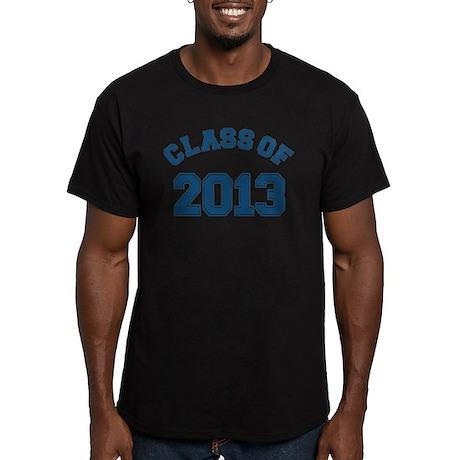 Blue Class Of 2013 Men's Fitted T-Shirt (dark)