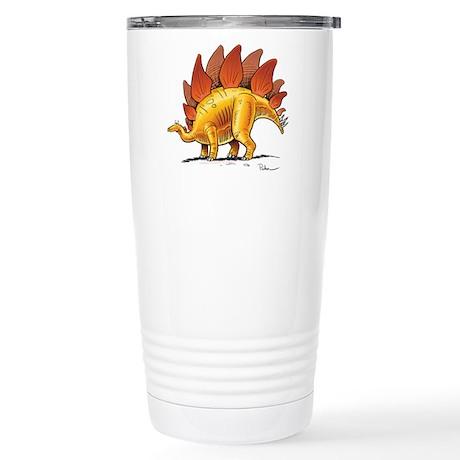 Stegosaurus Stainless Steel Travel Mug