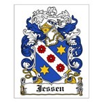 Jessen Coat of Arms Small Poster