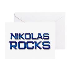 nikolas rocks Greeting Cards (Pk of 10)