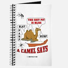 A Camel Says Journal, Oil, Camel, Desert, Gas