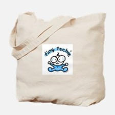 Tiny Techie Geek Baby Tote Bag