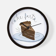 Cake Farts Wall Clock