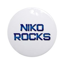niko rocks Ornament (Round)