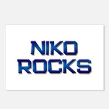 niko rocks Postcards (Package of 8)
