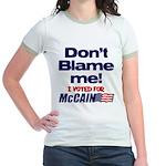 Don't Blame Me Jr. Ringer T-Shirt