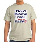 Don't Blame Me Light T-Shirt
