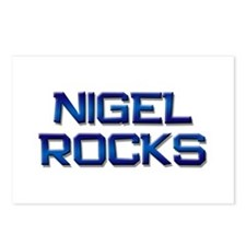 nigel rocks Postcards (Package of 8)