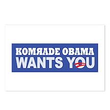 Anti Barack Obama Postcards (Package of 8)