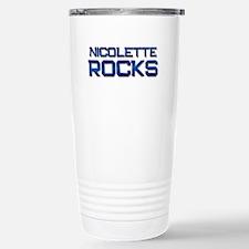 nicolette rocks Stainless Steel Travel Mug