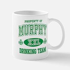 Murphy Irish Drinking Team Mug