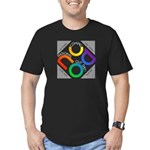 NCOD 2009 Men's Fitted T-Shirt (dark)