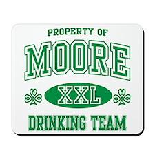 Moore Irish Drinking Team Mousepad